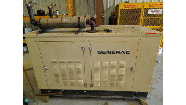 Generac 35 kW 35 kW NG/LPG Used Natural Gas Generator
