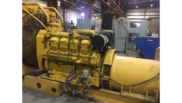 Caterpillar 800 kW 3508 Used Diesel Generator